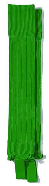 WAW Stutzen uni dunkel-grün